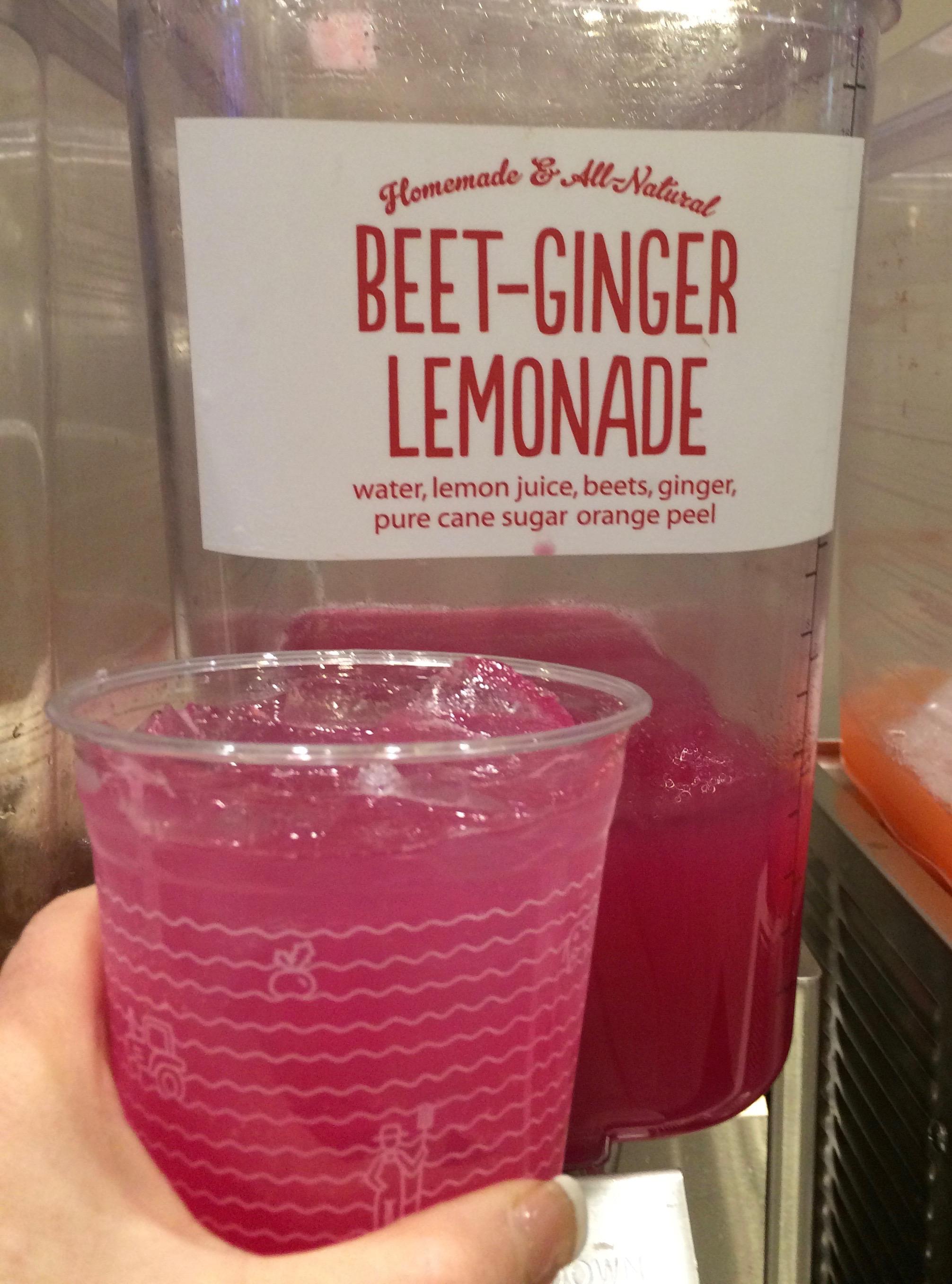 Beet Ginger Lemonade from B'Good