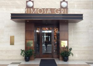 Mimosa Grill entry