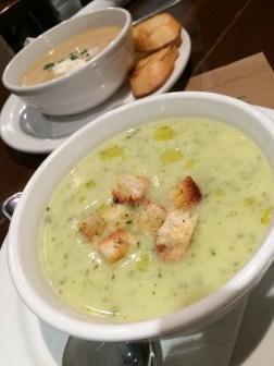 soups at Pizzeria Omaggio