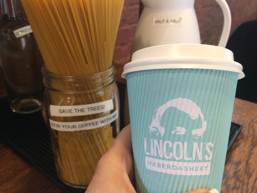 coffee at Lincolns