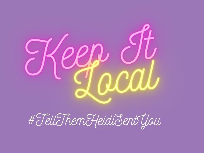 keep it local text