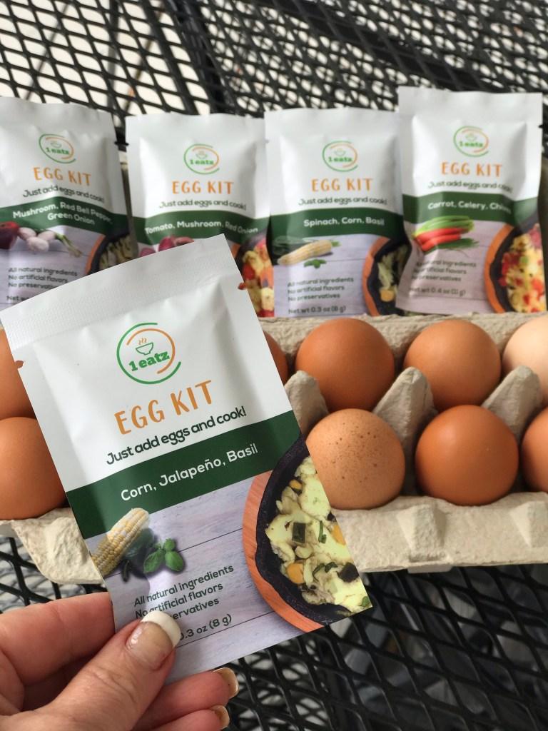 eggs and seasoning