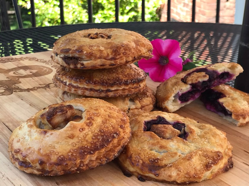 handpies with flower