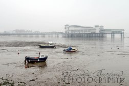 9th March 2013 - I stopped off on the way to the Weston-super-Mare museum craft fair to grab this shot of the pier and seafront all cloudy and misty.