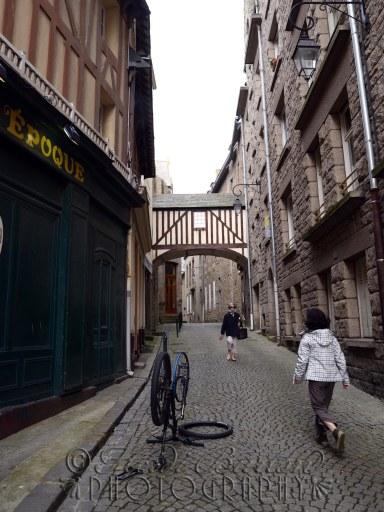 18th June 2013 - a street in Saint Malo