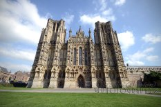 3rd September 2012 - I had a meeting in Wells, so took the opportunity to get a pretty shot or two of Wells Cathedral, a stunning building. Copyright Heidi Burton ABIPP. No use without the prior consent of the photographer.