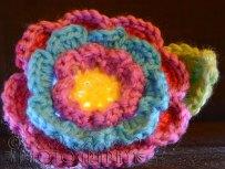 25th November - I thought I'd havea go at a crochet flower :-)