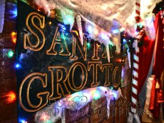 16th December 2013 - The Grotto at the Christmas Fair at the Weston-super-Mare Mueum