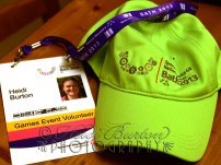 26th August 2013 - Accreditation and uniform ready for my time at the Special Olympics National Games!