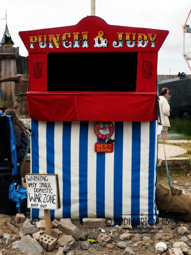 Punch and Judy, Dismaland, Banksy Exhibition, Weston-super-Mare, August/September 2015