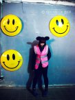 a happy worker, Dismaland
