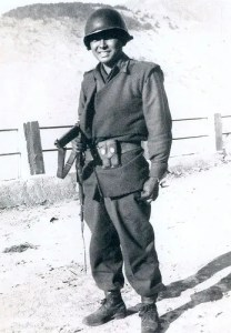 Daniel Inouye in the U.S. Army