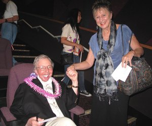 Roger Ebert and Jeannette Hereniko | Photo © Heidi Chang