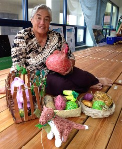 Malia Ane, Hawaiian studies director at Punahou   Photo © Heidi Chang