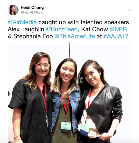 Alex Laughlin, Kat Chow, Stepahnie Foo
