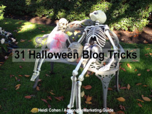 Halloween Blog Tricks