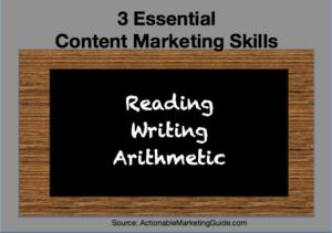 Essential Content Marketing Skills