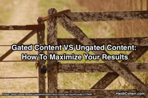 Gated Content VS Ungated Content