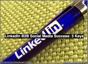 LinkedIn B2B Social Media Success