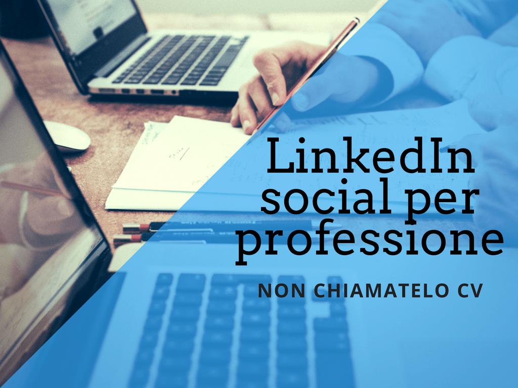 LinedIn social professionale