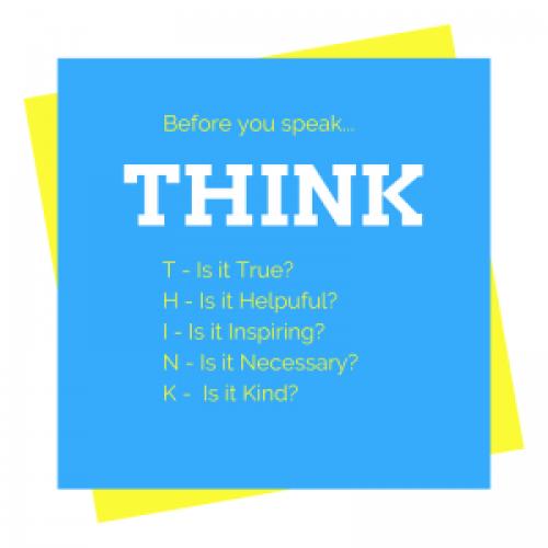 Prima di scrivere...THINK