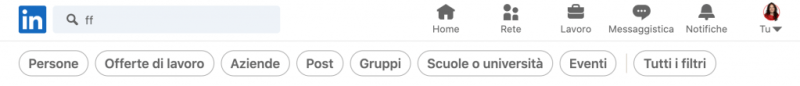 ricerca i gruppi linkedin