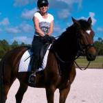 """""""Hi Heidi, Finally had a friend snap some photos so you can see that we are alive and well! I love my horse! -Kathryn"""""""