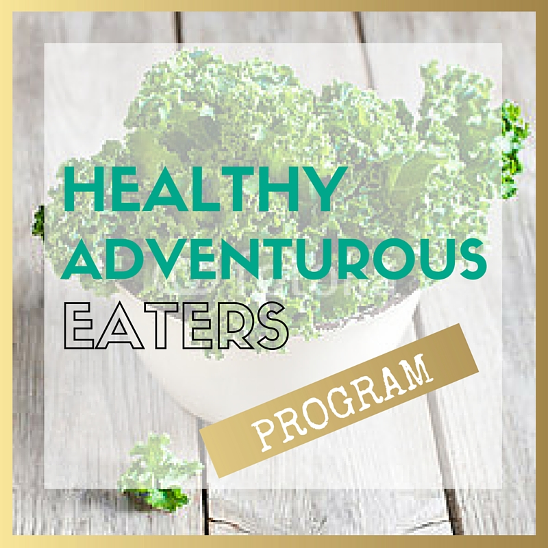 healthy adventurous eaters program
