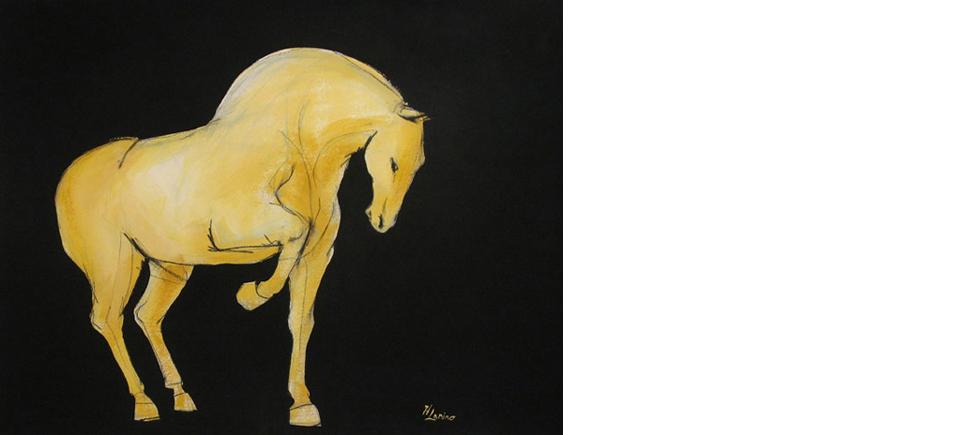 13-Tang-Series-sienna-prance-horse-scroll-OPT