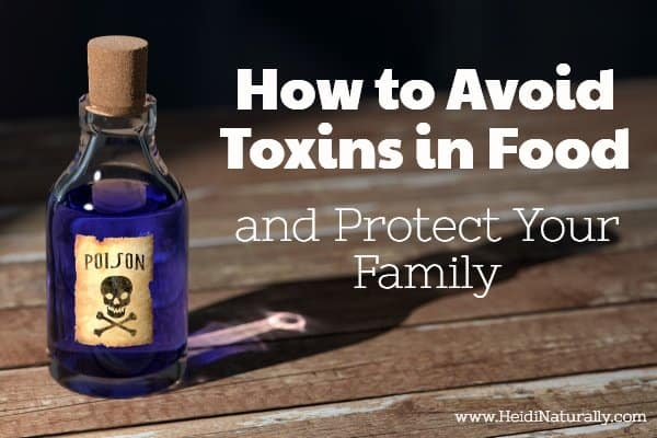 how to eat toxin free food