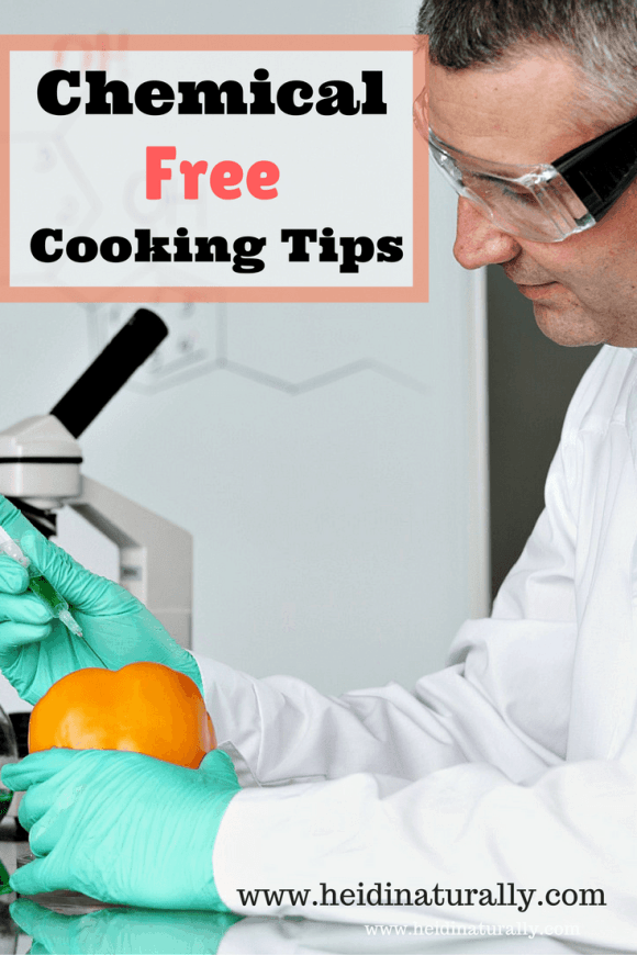 chemical free cooking