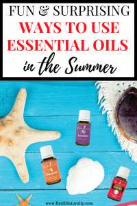 use essential oils in summer