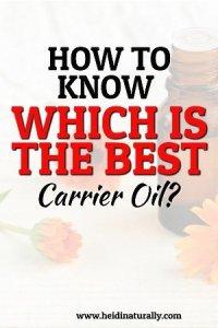 Best Carrier Oil