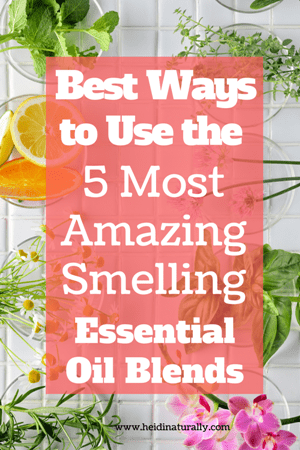 best essential oil blends