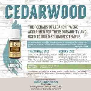 cedarwoood essential oil