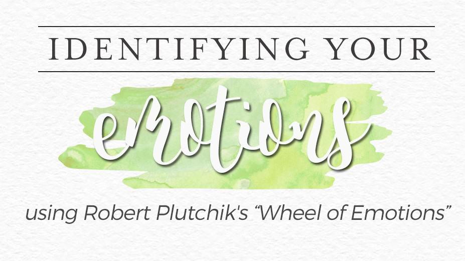 identify emotions plutchick