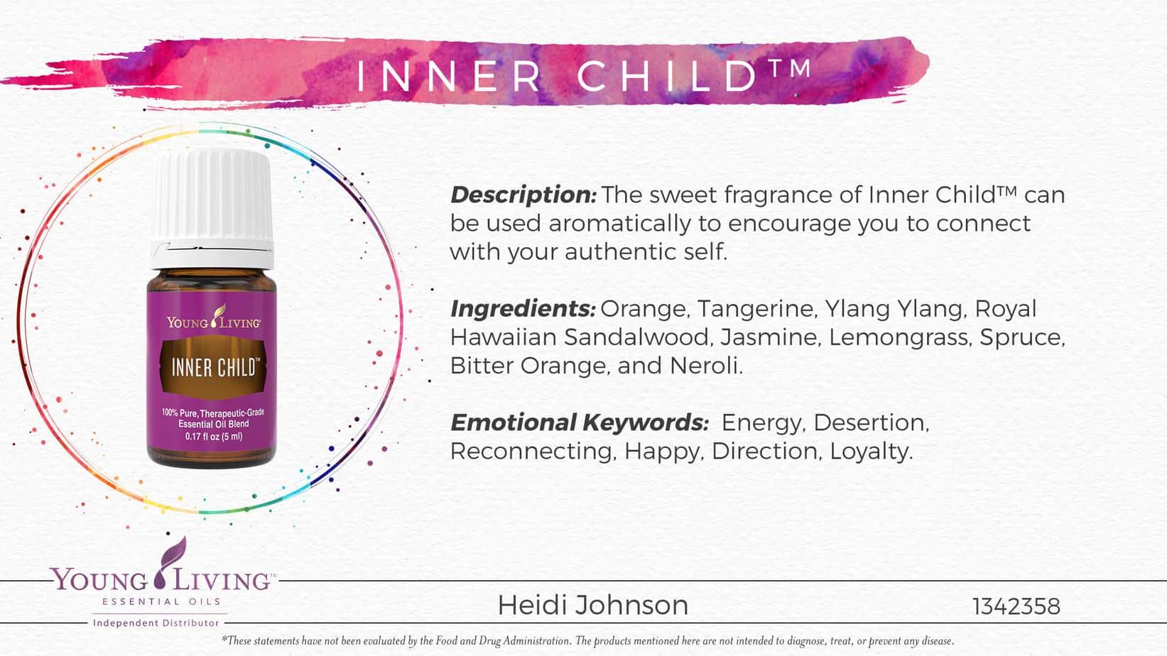 inner child essential oil