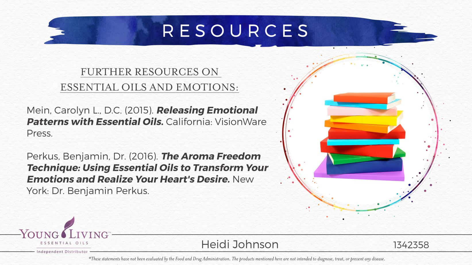 essential oil resources