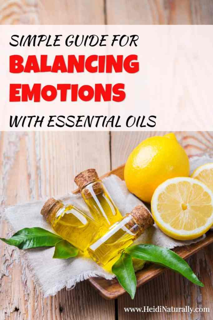 how to balance emotions with essential oils