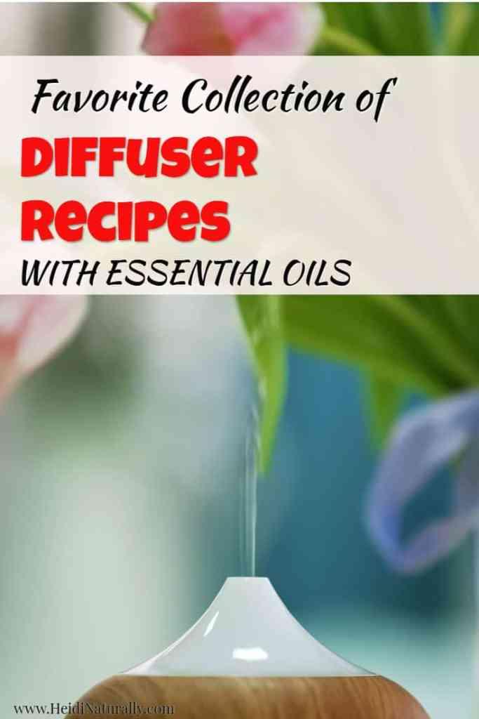 favorite essential oil diffuser recipes