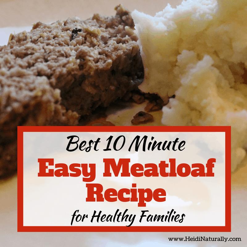 best 10 minute easy meatloaf recipe