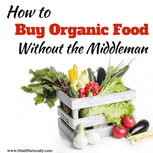 how to buy organic food