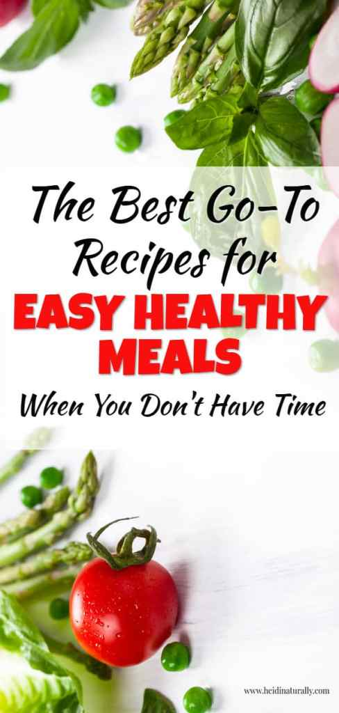 easy healthy meal ideas for busy families