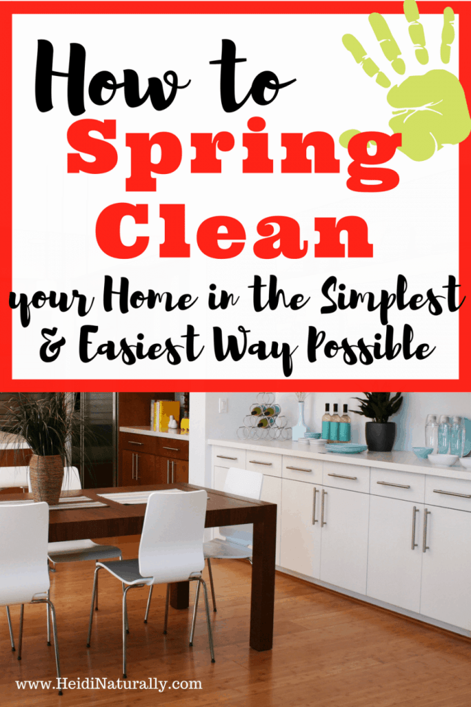 easy spring cleaning
