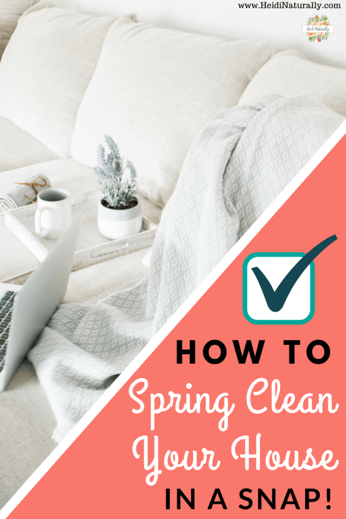 simple spring cleaning