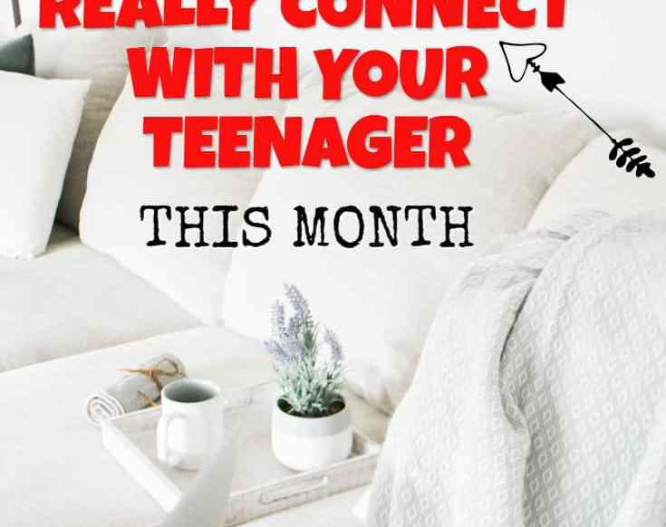 Want to reconnect and have a better relationship with your teenager? Follow these simple things to do with teenagers to naturally improve connection easily.