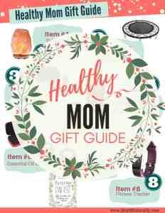 Healthy mom gift guide printable