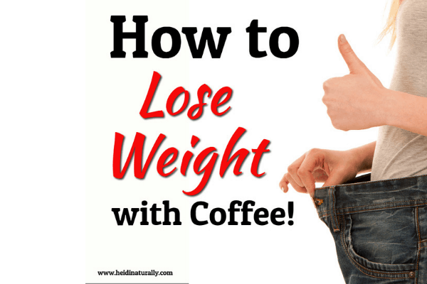 How to Lose Weight with Coffee - Weight Loss Coffee Recipe