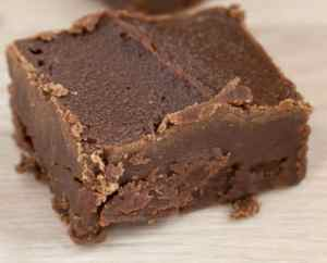Healthy chocolate fudge