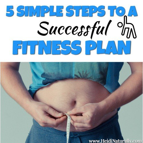5 Steps to a Successful New Year Fitness Plan